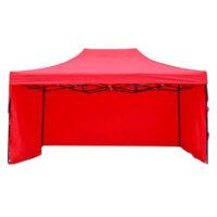 стенки к шатру 3 на 4.5 красные